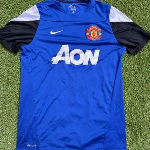 2010 NIKE MANCHESTER UNITED Football Soccer Jersey
